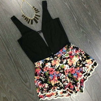 One Piece Backless Rompers [7279335687]