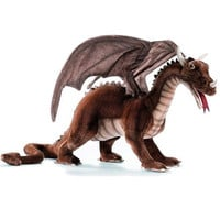 Hansa Large Dragon Play Size - Brown - Hansa Toys - Other Animals - FAO Schwarz®