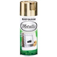 Shop Rust-Oleum Specialty Gold Metallic Fade Resistant Spray Paint (Actual Net Contents: 11-oz) at Lowes.com