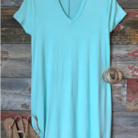 Magical Moments Pocket Dress: Mint