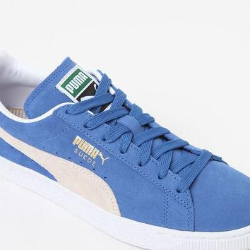 Puma Women's Blue Suede Classic Sneakers at PacSun.com