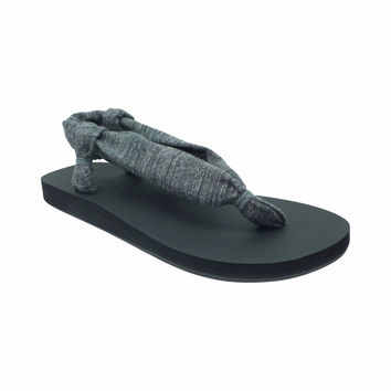Mossimo Supply Co. Women's Cecily Flip Flop Sandals, 11, Charcoal/Black