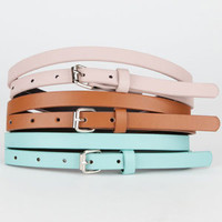 Skinny Belts 3 Pack                 194445409 | gifts under $25 | Tillys.com
