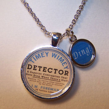 Timey Wimey Detector Necklace - Doctor Who