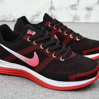 """Nike Lunargl Ide 30"" Men Sport Casual Fashion Multicolor Knit Breathable Light Running Shoes Sneakers"