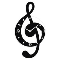 Musical Clef Wall Clock : Target