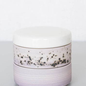 Ben Fiess Stacking Vessel - Lilac