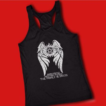 Supernatural Winchester Brothers Hunters Women'S Tank Top