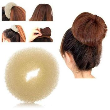 Korean Style Bud Head Ball Head Disk Donuts Dish Hair Hairdressing tools For Women Hair Accessories