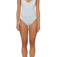 Dolce Vita Lace-Up One-Piece Swimsuit | Nordstrom