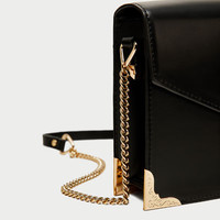 CROSSBODY BAG WITH HEART DETAIL Look+: 1 of 1