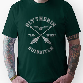Quidditch - Slytherin - Team Seeker Unisex T-Shirt