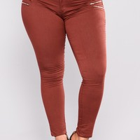 Neutral Ground Pants - Wine