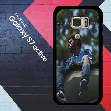 J Cole 2014 Forest Hills Drive  X4742 Samsung Galaxy S7 Active Case