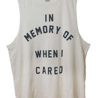 In Memory - Ivory (Mens Fit)