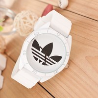 Gift Trendy New Arrival Stylish Designer's Great Deal Good Price Awesome Ladies Korean Silicone Couple Watch [11912227731]