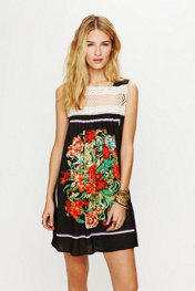 Free People Fiesta Mini Dress at Free People Clothing Boutique