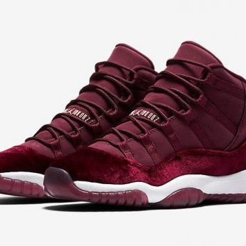 Air Jordan Retro XI 11 'Red Velvet' Boys GS