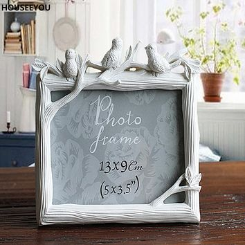 Bird And Tree Wedding Picture Frame