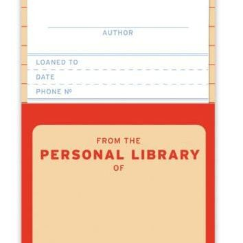 Personal Library Kit Refill - Whimsical & Unique Gift Ideas for the Coolest Gift Givers