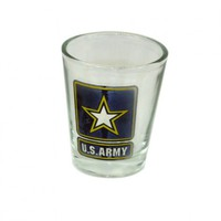 """U.S. Army"" Logo Shot Glass Your favorite online gift shop!"