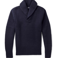 Polo Ralph Lauren - Wool Shawl-Collar Sweater | MR PORTER