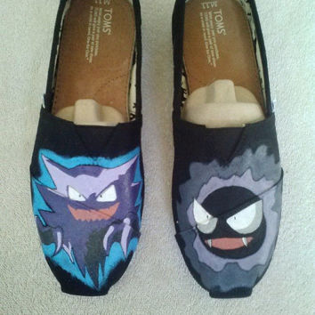 Custom Hand Painted Shoes - Pokemon