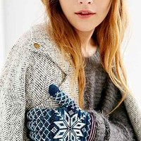 Fair Isle Plush Glove-