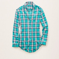 Aerie Supersoft Flannels, Aqua Key | Aerie for American Eagle