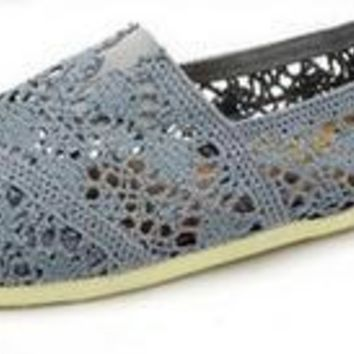 TOMS UNISEX FLAT SHOES FASHION LEISURE LOAFERS 36-40
