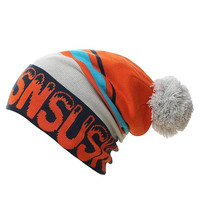 Unisex Gorros SNSUSK Brand Men Women Skiing Warm Winter Knitting Skull Cap Hat Beanies Turtleneck Cap Ski Cap