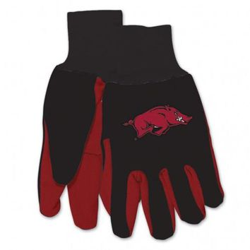 Arkansas Razorbacks - Adult Two-Tone Sport Utility Gloves