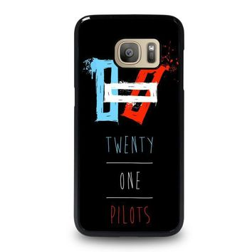 twenty one pilots symbol samsung galaxy s7 case cover  number 1