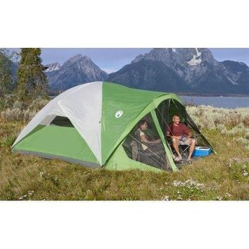 Outdoor Camping Tent Coleman Screened Canopy Tent Family Cabin Tent for 8 Person