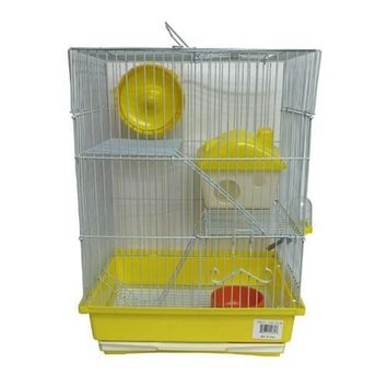 Iconic Pet Mouse Cage - Small - Yellow