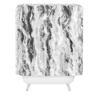 Lisa Argyropoulos Mono Melt Shower Curtain