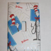 Light Switch Cover - Light Switch DR Seuss Cat In The Hat