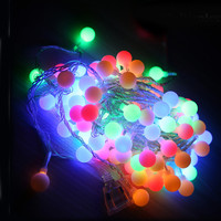 Tanbaby 10M led string lights with 80led ball AC220V holiday decoration lamp Festival Christmas lights outdoor lighting