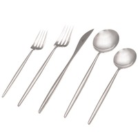 Moon Flatware: Polished Steel - A+R Store