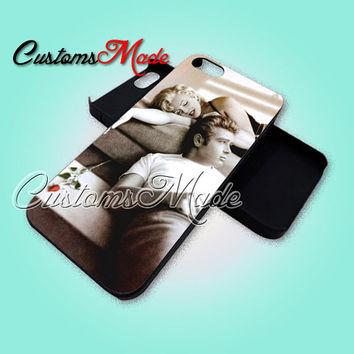 James Dean And Marilyn Monroe - iPhone 4/4s/5 Case - Samsung Galaxy S2/S3/S4 Case - Black or White