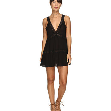 Free People Look of Love Slip Black - Zappos.com Free Shipping BOTH Ways