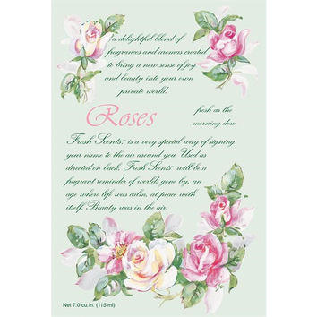 Fresh Scents Scented Sachets by Willowbrook - Roses, 6 Packs