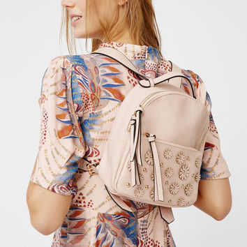 Free People Sofie Floral Vegan Backpack