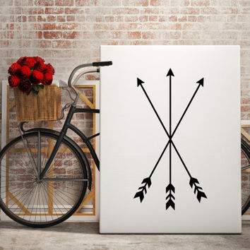 Printable Wall Decor Arrows Wall Art Arrows Print Bohemian Print Bohemian Art Minimalist Print Home Decor Apartment Decor Dormroom Decor