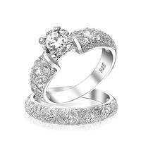 Bling Jewelry Filigree Bridal Ring