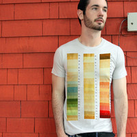 Color Swatch Artistic T-shirt