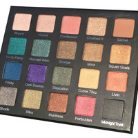 Drenched Metal Shadow Palette Pre-Order