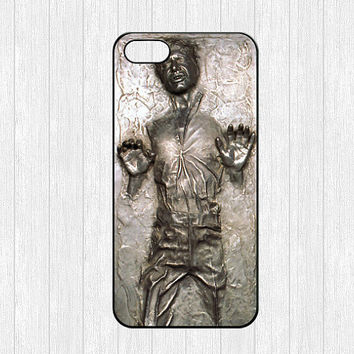 Han Solo iPhone 5 Case,Frozen in Carbonite iPhone 5 Hard Case,Star Wars cover skin case for iphone 5 case,More styles for you choose