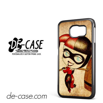 Harley Quinn And Joker Art Couple Case Device 2 DEAL-5070 Samsung Phonecase Cover For Samsung Galaxy S6 / S6 Edge / S6 Edge Plus