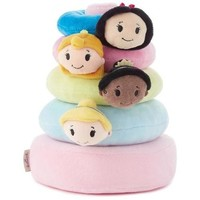 Hallmark itty bittys Disney Princess Baby Stuffed Animal Stacker
